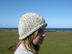 Rolled Edge Hat